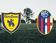 Chievo Bologna streaming live gratis link, siti web. Dove vedere