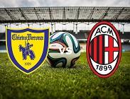Chievo Milan streaming gratis live siti web, link. Dove vedere