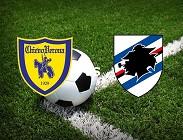Chievo Sampdoria siti web e link streaming