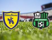 Chievo Sassuolo streaming live gratis link, siti web. Dove vedere