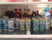 Supermercato, birre, ladro, polizia