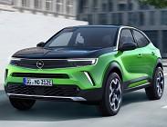 Varie versioni Opel Mokka