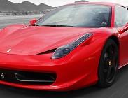 Schianto, Ferrari, concessionario