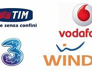 Tim, Vodafone, 3 Italia, Wind