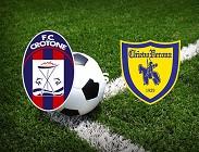 Crotone Chievo streaming live gratis link, siti web. Dove vedere