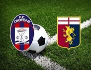 Crotone Genoa streaming live gratis link, siti web. Dove vedere