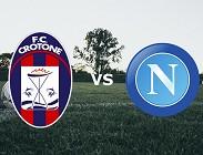 Crotone Napoli streaming gratis live. Vedere link, siti web