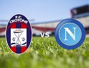 Crotone Napoli streaming (in aggiornamento)