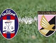 Crotone Palermo streaming gratis live link, siti web migliori. Dove vedere