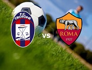Crotone Roma in streaming