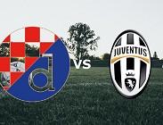 Dinamo Zagabria Juventus streaming gratis live link, siti web. Dove vedere