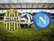 Verona Napoli streaming anticipo orario