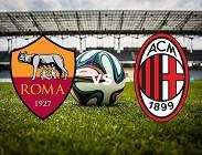 diretta Serie A Roma-Milan