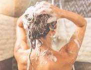 Pelle, doccia, acqua, consigli, errori