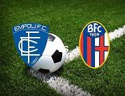 Empoli Bologna in streaming