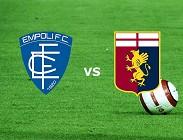 Empoli Genoa in streaming