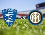 Empoli Inter streaming. Dove vedere