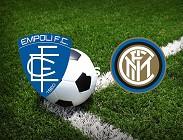 Empoli Inter streaming gratis live link, migliori siti web. Dove vedere