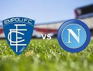 Empoli Napoli in streaming
