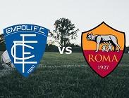 Empoli Roma streaming gratis per vedere link, canali tv, siti web