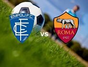 Empoli Roma streaming live gratis link, siti web. Dove vedere