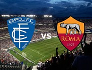 Empoli Roma streaming gratis live. Vedere su migliori siti web, link