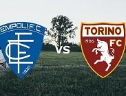 Empoli Torino in streaming