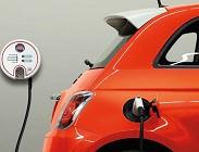 Fiat 500 elettrica, autonomia e dotazioni