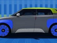 Fiat Panda elettrica nel 2020-2021