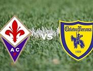 Fiorentina Chievo streaming live gratis link, siti web. Dove vedere