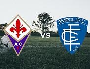 Fiorentina Empoli in streaming