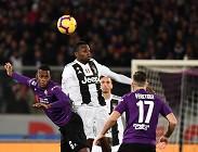 Fiorentina Juventus streaming siti web e link