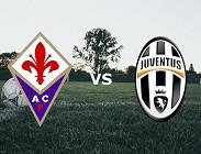 Streaming Fiorentina Juventus diretta live