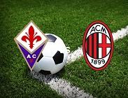 Fiorentina Milan streaming live gratis. Vedere su link, siti web