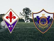 Fiorentina Qarabag FK streaming live gratis siti web, link. Dove vedere
