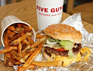 Five Guys, famoso fast food