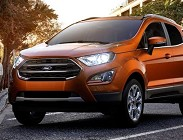 Interni e dotazione Ford Ecosport