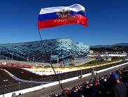 streaming Formula 1 Russia gara e prove