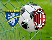 Frosinone Milan Serie A oggi streaming