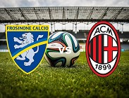 Frosinone Milan siti web e link streaming