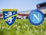 Streaming Frosinone Napoli diretta live gratis