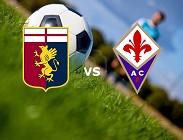Genoa Fiorentina streaming gratis live link, siti web. Dove vedere