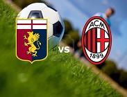 Genoa Milan streaming per vedere live gratis su link, siti web (IN AGGIORNAMENTO)