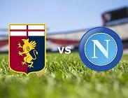 Genoa Napoli streaming gratis live siti web, link. Dove vedere