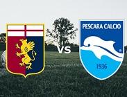 Genoa Pescara streaming gratis live link, siti web. Dove vedere