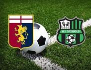 Genoa Sassuolo in streaming