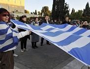 Grecia su, Italia giù