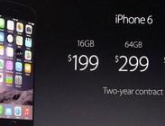 iPhone 6: uscita in Italia e prezzi.  Situazione aggiornata abbonamenti operatori, negozi dove sar� venduto, scorte, preordini
