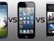 iPhone 6 vs Samsung Galaxy S5 vs Htc M8: prezzi migliori, sconti più bassi e Vodafone, 3 Italia, Tim, Wind offerte abbonamento