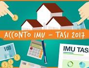 Imu e Tasi: prima rata 2017